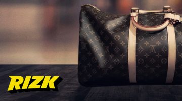 Rizk casino Louis vuitton laukku